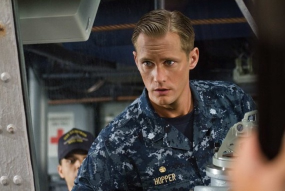 Lieutenant Alex Hopper from Battleships (2012)
